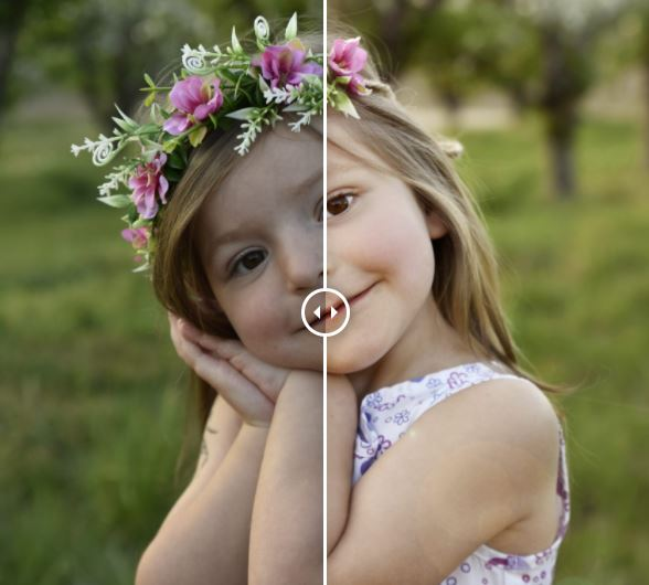 Fotografie před úpravou a po úpravě #2